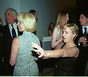 Caroline Graham and Tina Brown. Pre Bafta party jointly hosted by Tina Brown and Elizabeth Murdoch. St. Martin's Lane Hotel. 8 April 2000<br />© Copyright Photograph by Dafydd Jones 66 Stockwell Park Rd. London SW9 0DA Tel 010 7733 0108 www.dafjones.com