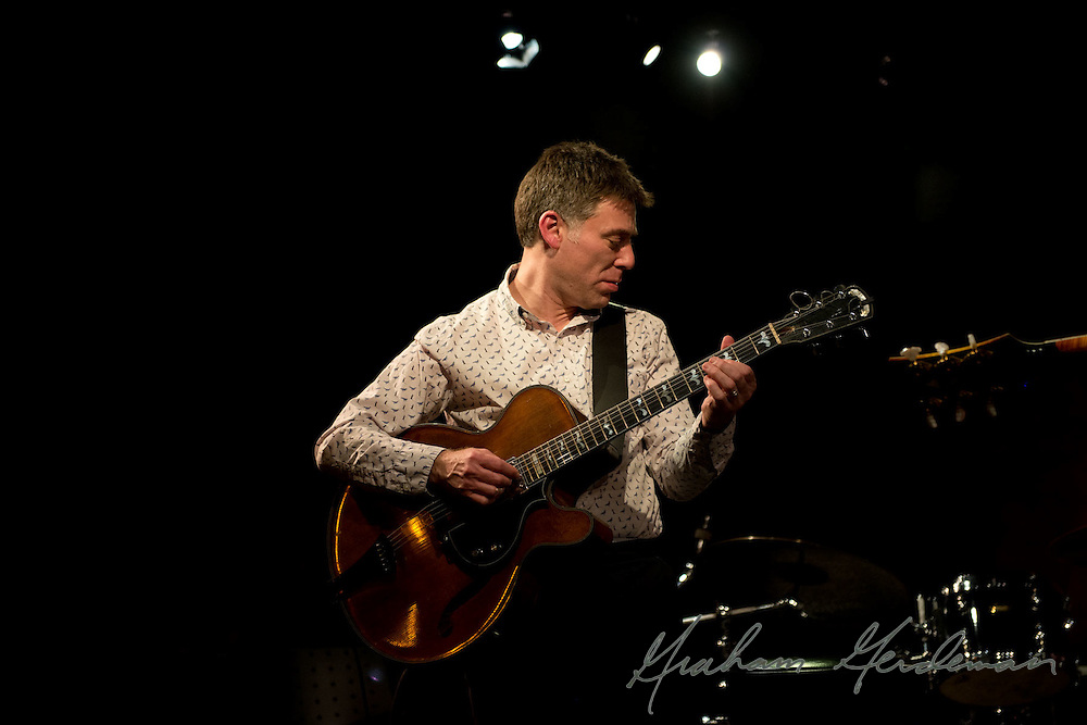 Guitarist Peter Bernstein performs solo guitar at the Nashville Jazz Workshop