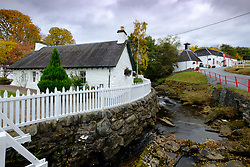 Edradour Distillery in Pitlochry, Scotland, United Kingdom