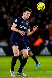Declan Rice of West Ham United - Mandatory by-line: Robbie Stephenson/JMP - 10/01/2020 - FOOTBALL - Bramall Lane - Sheffield, England - Sheffield United v West Ham United - Premier League