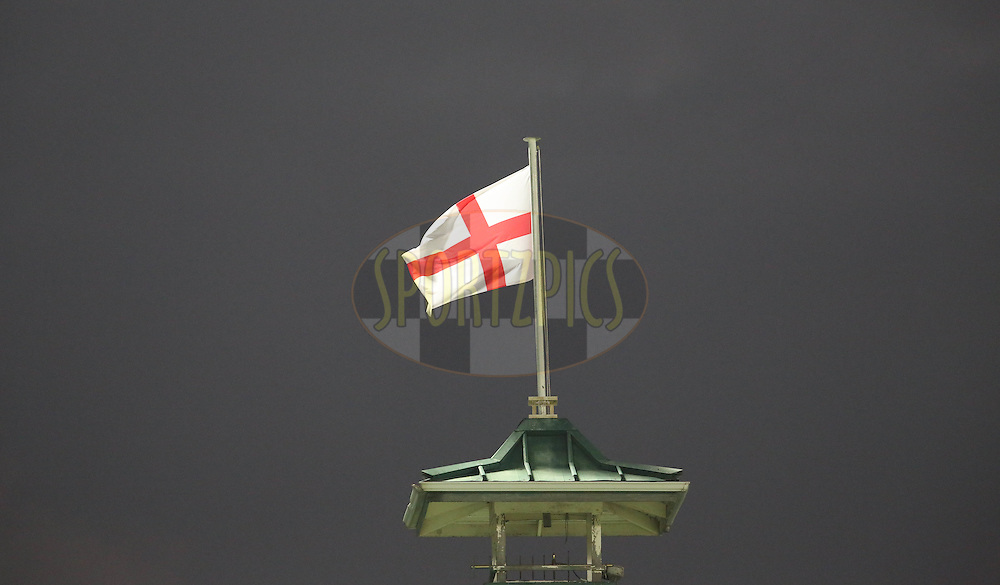 English Flag during the First KFC T20 Match between South Africa and England played at Newlands Stadium, Cape Town, South Africa on February 19th 2016
