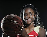 Lafayette High's Shaquilla Isom is a member of the Oxford Eagle's 2010 All-Area Basketball Team, photographed on Monday, April 12, 2010 in Oxford, Miss. Isom is the Player of the Year.