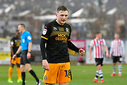 George Maris (18) of Cambridge United during the EFL Sky Bet League 2 match between Exeter City and Cambridge United at St James' Park, Exeter, England on 26 January 2019.