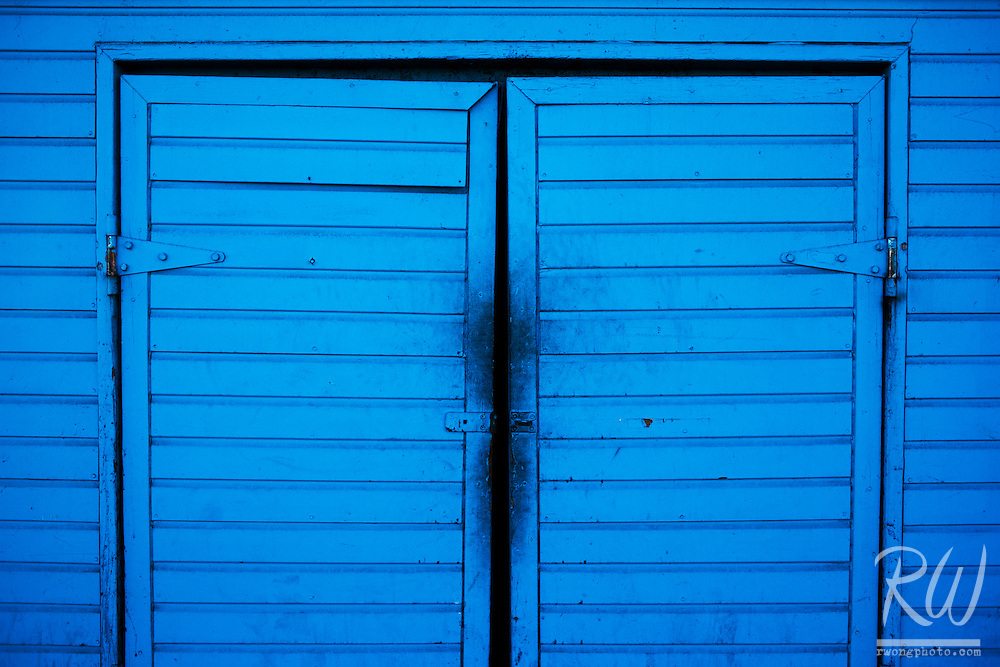 Blue Doors on Santa Monica Pier, Santa Monica, California