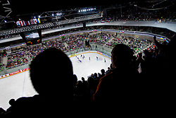 Arena Stozice during ice-hockey match between Slovenia and Ukraine at IIHF World Championship DIV. I Group A Slovenia 2012, on April 19, 2012 in Arena Stozice, Ljubljana, Slovenia. (Photo by Vid Ponikvar / Sportida.com)