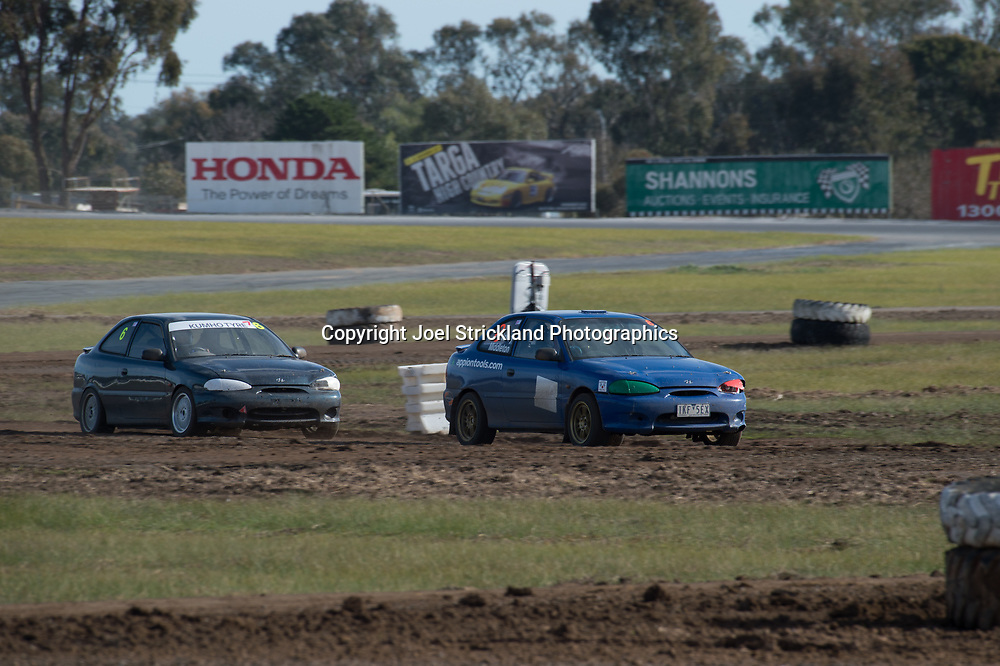 Neil Schey - Hyundai Excel  - Rallycross Australia - Winton Raceway - 16th July 2017