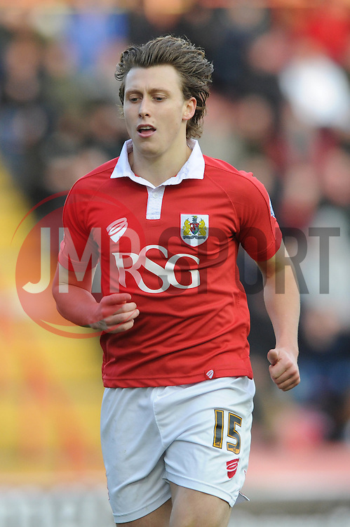 Bristol City's Luke Freeman - Photo mandatory by-line: Dougie Allward/JMP - Mobile: 07966 386802 - 10/01/2015 - SPORT - football - Bristol - Ashton Gate - Bristol City v Notts County - Sky Bet League One