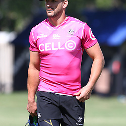 DURBAN, SOUTH AFRICA - FEBRUARY 12: Keegan Daniel during the Cell C Sharks training session at Growthpoint Kings Park on February 12, 2018 in Durban, South Africa. (Photo by Steve Haag/Gallo Images)