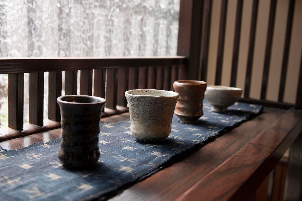 Kartsu Modern Karatsu ware from a independent kiln