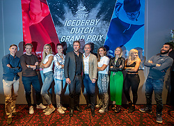 10-04-2019 NED: Kick off of Icederby in Thialf 2019/2020, Almere<br /> The Ultimate Icederby between long track and short track speed skating comes to invade the Netherlands / Sjinkie<br /> Knegt, Elise Christie, Arianna Fontana, Suzanne Schulting, Frank Kolsteeg, Jorien ter Mors, Jutta Leerdam, Michel Mulder en Bart Swings