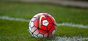 The new Nike Premier League ball in use during the Pre-Season Friendly match between Bromley and Crystal Palace at the Courage Stadium, Bromley, United Kingdom on 30 July 2015. Photo by Michael Hulf.