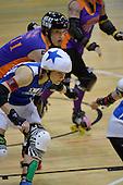 20130713 Richter City All Stars v Victorian Roller Derby Queen Bees