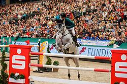 SCOTT Hilary (AUS), Oaks Milky Way<br /> Leipzig - Partner Pferd 2020<br /> Longines FEI Jumping World Cup™ presented by Sparkasse<br /> Sparkassen Cup - Großer Preis von Leipzig FEI Jumping World Cup™ Wertungsprüfung <br /> Springprüfung mit Stechen, international<br /> Höhe: 1.55 m<br /> 19. Januar 2020<br /> © www.sportfotos-lafrentz.de/Stefan Lafrentz