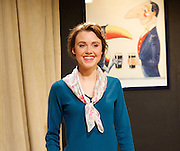 The Green Bay Tree <br /> by Mordaunt Shairp<br /> at the Jermyn Street Theatre, London, Great Britain <br /> press photocall <br /> 26th November 2014 <br /> directed by Tim Luscombe<br /> <br /> Poppy Drayton as Leonora<br /> <br /> <br /> <br /> Photograph by Elliott Franks <br /> Image licensed to Elliott Franks Photography Services