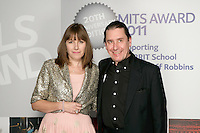 Jools and Christabel Holland, the 2011 MITs Award. Held at the Grosvenor Hotel London in aid of Nordoff Robbins and the BRIT School. Monday, Nov.7, 2011