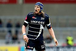 Magnus Lund of Sale Sharks - Mandatory by-line: Robbie Stephenson/JMP - 19/02/2017 - RUGBY - AJ Bell Stadium - Sale, England - Sale Sharks v Wasps - Aviva Premiership