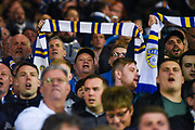 Leeds United fans during the EFL Sky Bet Championship match between Leeds United and West Bromwich Albion at Elland Road, Leeds, England on 1 March 2019.