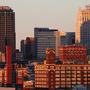 Downtown Kansas City Missouri Skyline.