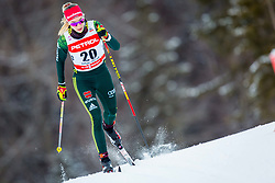 Pia Fink (GER) during FIS Cross-Country World Cup Planica 2018, on January 21, 2018 in Planica, Kranjska Gora, Slovenia. Photo by Ziga Zupan / Sportida