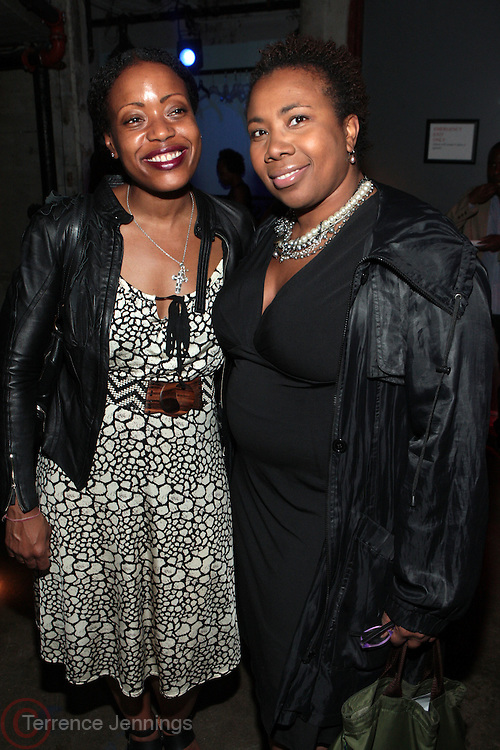 28 April 2011- New York,  NY-  l to r: Tracey Reese and Margo Lewis at The Sparkling Celebration for the Birthday of Harriette Cole held at the Galapagos Art Space on April 27, 2011 in Brooklyn, NY Photo Credit: Terrence Jennings