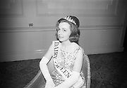 Dairy Queen of Ireland Crowned at the Shelbourne Hotel. Miss Gerladine Coogan..20.01.1966