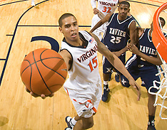 20090103 - #22 Xavier at Virginia (NCAA Basketball)