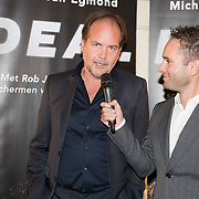 NLD/Scheveningen/20171107 - Boekpresentatie Deal, schrijver Michel van Egmond