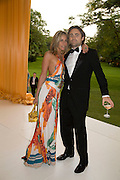 TARA AND JAMES ARCHER, Raisa Gorbachev Foundation Party, at the Stud House, Hampton Court Palace on June 7, 2008 in Richmond upon Thames, London,Event hosted by Geordie Greig and is in aid of the Raisa Gorbachev Foundation - an international fund fighting child cancer.  7 June 2008.  *** Local Caption *** -DO NOT ARCHIVE-© Copyright Photograph by Dafydd Jones. 248 Clapham Rd. London SW9 0PZ. Tel 0207 820 0771. www.dafjones.com.