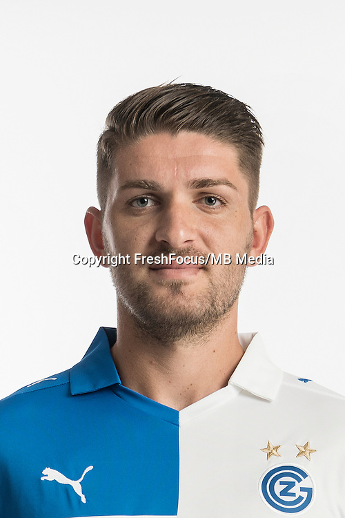 06.07.2016; Niederhasli; Fussball Super League -  Grasshopper Club Zuerich;<br />Alban Pnishi (GC)<br />(Christian Beutler/Keystone/freshfocus)