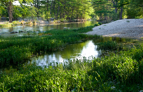 Stock photo of a small section of the Frio River in the Texas Hill Country