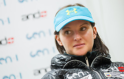 Sasa Faric during press conference of Slovenian Ski cross team on November 5, 2013 in SZS, Ljubljana, Slovenia. (Photo by Vid Ponikvar / Sportida)