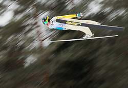 Peter Prevc of Slovenia soars through the air during the Flying Hill Individual Event at 4th day of FIS Ski Jumping World Cup Finals Planica 2013, on March 24, 2013, in Planica, Slovenia. (Photo by Vid Ponikvar / Sportida.com)