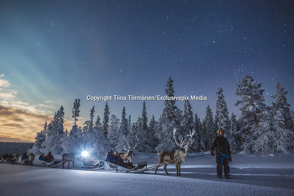 THE MAGIC OF WINTERTIME IN FINNISH LAPLAND<br />