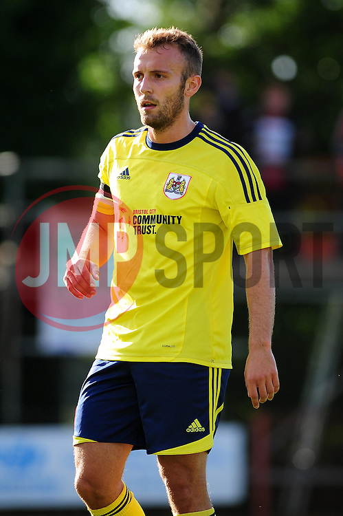 Bristol City's Liam Kelly - Photo mandatory by-line: Dougie Allward/JMP - Tel: Mobile: 07966 386802 03/07/2013 - SPORT - FOOTBALL - Bristol -  Ashton and Backwell United V Bristol City - Pre Season Friendly