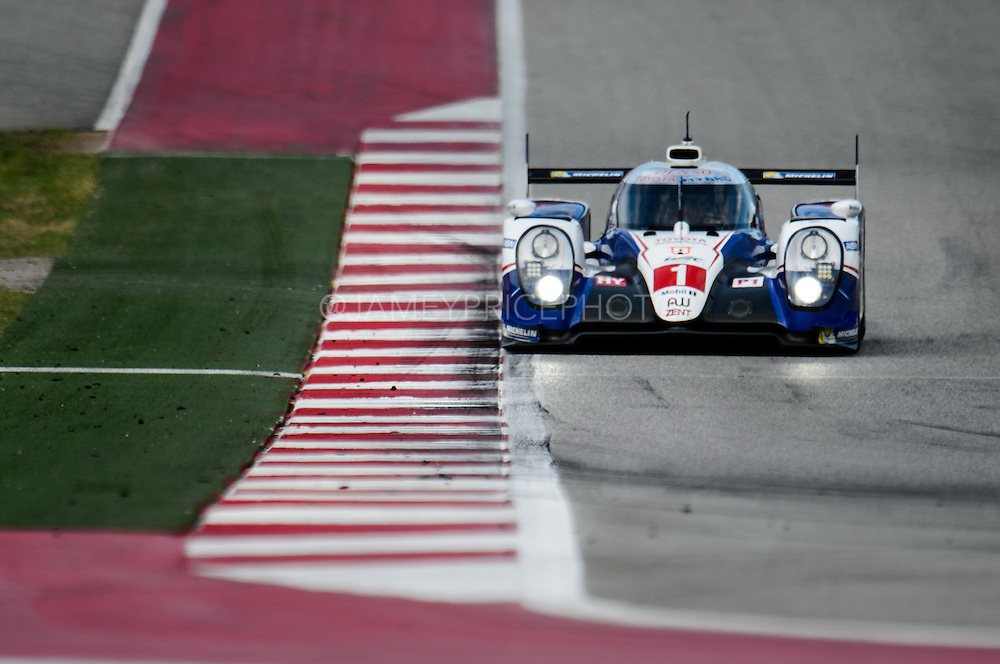 September 19, 2015 World Endurance Championship, Circuit of the Americas. #1 TOYOTA RACING, TOYOTA TS 040 - HYBRID, Anthony DAVIDSON, Sébastien BUEMI, Kazuki NAKAJIMA