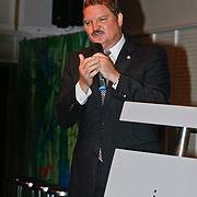 NLD/Rotterdam/20110202 - Boekpresentatie Mr. Finney door pr. Laurentien, Mike Eman, minster president van Aruba