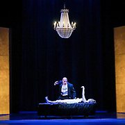 Pacific Music Works and UW School of Music production of Magic Flute. Alasdair Elliott and Mary Feminear.