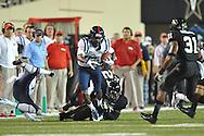 Mississippi wide receiver Ja-Mes Logan (85) vs. Vanderbilt in Nashville, Tenn. on Thursday, August 29, 2013.
