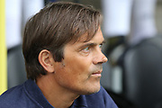 Derby County manager Phillip Cocu during the Pre-Season Friendly match between Burton Albion and Derby County at the Pirelli Stadium, Burton upon Trent, England on 20 July 2019.
