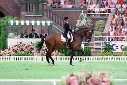 Otto-Crepin Margit, (FRA), Corlandus<br /> World Equestrian Games Stockholm 1990<br /> © Hippo Foto - Dirk Caremans