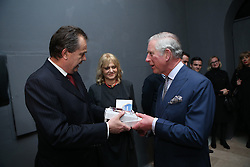 15.03.2016, Zagreb, CRO, der Britische Kronprinz Charles und seine Frau Camilla besuchen Kroatien, im Bild His Royal Highness the Prince of Wales attended the celebration of the 70th anniversary of the British Council in Croatia at the Museum of Arts and Crafts. EXPA Pictures © 2016, PhotoCredit: EXPA/ Pixsell/ Igor Kralj/POOL<br /> <br /> *****ATTENTION - for AUT, SLO, SUI, SWE, ITA, FRA only*****