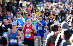 NEW YORK, Nov. 5, 2018  People participate in the 2018 New York City Marathon in New York, the United States, on Nov. 4, 2018. Over 50,000 runners attended the world famous race on Sunday. (Credit Image: © Xinhua via ZUMA Wire)