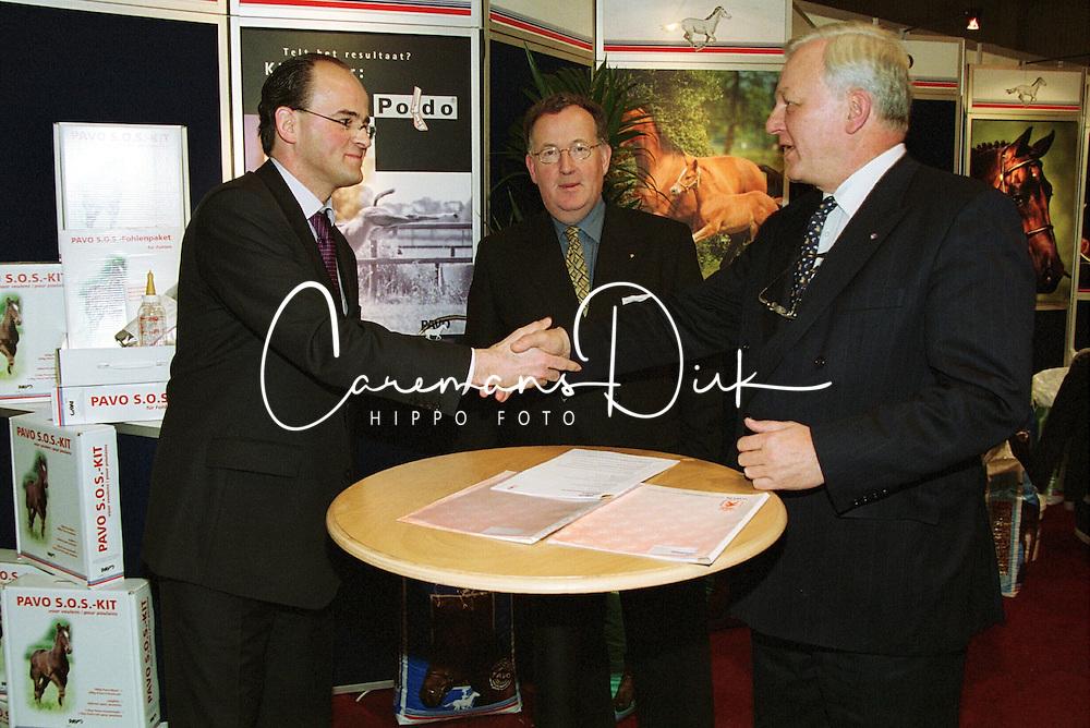 Pavo Contract<br />KWPN Hengstenkeuring 2001 - 's Hertogenbosch<br />Photo © Dirk Caremans