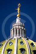 "PA Capitol Dome, ""Commonwealth"" Sculpture Harrisburg, PA"