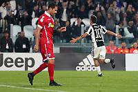 25.10.2017 - Torino - Serie A 2017/18 - 10a giornata  -  Juventus-Spal nella  foto: Paulo Dybala esulta dopo il gol del 2 a 0