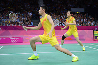 Zhang.N and Zhao.YL, China, Mixed Doubles, Olympic Badminton London Wembley 2012