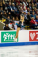 KELOWNA, BC - OCTOBER 25:  Korean figure skater Yelim Kim competes at Skate Canada International in the ladies short program at Prospera Place on October 25, 2019 in Kelowna, Canada. (Photo by Marissa Baecker/Shoot the Breeze)