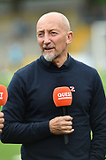 TV pundit Ian Holloway during the EFL Sky Bet League 1 match between Wycombe Wanderers and Lincoln City at Adams Park, High Wycombe, England on 7 September 2019.