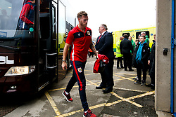 Tomas Kalas of Bristol City arrives at Elland Road for the Sky Bet Championship fixture against Leeds United - Mandatory by-line: Robbie Stephenson/JMP - 24/11/2018 - FOOTBALL - Elland Road - Leeds, England - Leeds United v Bristol City - Sky Bet Championship