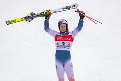 02.03.2020, Hannes Trinkl Weltcupstrecke, Hinterstoder, AUT, FIS Weltcup Ski Alpin, Riesenslalom, Herren, Siegerehrung, im Bild Alexis Pinturault (FRA, 1. Platz) // winner Alexis Pinturault of France during the winner ceremony for the men's Giant Slalom of FIS ski alpine world cup at the Hannes Trinkl Weltcupstrecke in Hinterstoder, Austria on 2020/03/02. EXPA Pictures © 2020, PhotoCredit: EXPA/ Johann Groder